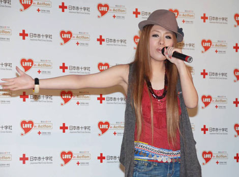 『はたちの献血キャンペーン』発表会見で歌声を披露したMetis (C)ORICON DD inc.