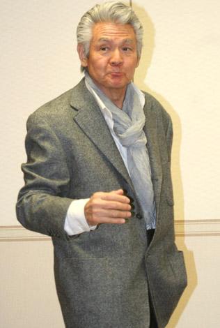 韓国映画『牛の鈴音』の試写会で講演した菅原文太 (C)ORICON DD inc.