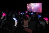 3D映像生中継を行ったライブイベント「Winternet'10 バレンタイン・スペシャルライブ」、中継会場の様子