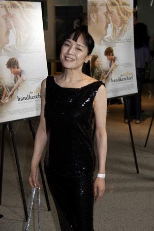 映画『イエロー・ハンカチーフ』のLAプレミアに登場した桃井かおり(C)Kaori Suzuki