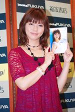 初のイメージDVD『Ma cherie』を発売した甲斐まり恵(C)ORICON DD inc.