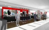 3月3日に小田急百貨店新宿店にオープンするスタイルオーダースーツブランド「bref(ブレフ)」の1号店、店舗イメージ