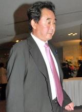 『小野ヤスシ 芸能生活50周年をそれとなく祝う会』に出席した東尾修氏 (C)ORICON DD inc.