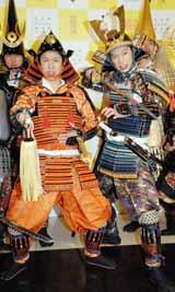 『武将都市ナゴヤキャンペーン』イベントにPR奉行として出席した、はんにゃの(左から)川島章良、金田哲 (C)ORICON DD inc.