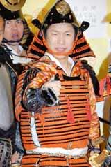 『武将都市ナゴヤキャンペーン』イベントにPR奉行として出席した、はんにゃ・川島章良 (C)ORICON DD inc.