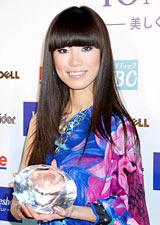 2010年『ミス・ユニバース』日本代表に選ばれた板井麻衣子さん
