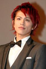 映画『ダレン・シャン』のジャパンプレミアに出席した山本裕典
