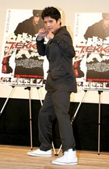 映画『TEKKEN-鉄拳-』のジャパンプレミア試写会に出席したジョン・フー