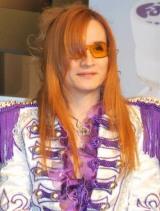 『ファンタ』新CMに出演するロックバンドFANTAのTHE ALFEE・高見沢俊彦(Takamiy=ギター) (C)ORICON DD inc.