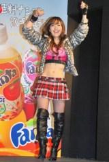 『ファンタ』新CMに出演するロックバンドFANTAの歌手の谷村奈南(Nana=ボーカル) (C)ORICON DD inc.