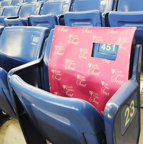 新規ファン開拓を目指し設置される女性限定エリア『Girls'Giants Seat』