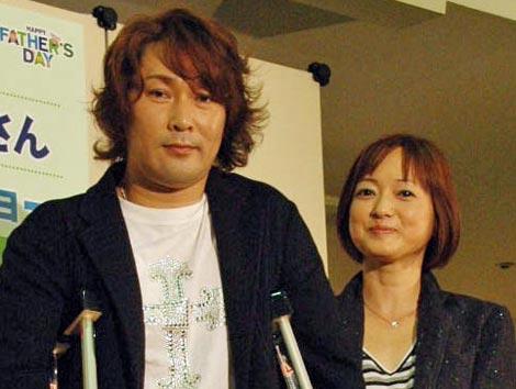 元木大介&大神いずみ夫妻(写真は昨年6月のトークショーより)(C)ORICON DD inc.