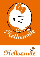 『Hellosmile PROJECT』オフィシャルのロゴ