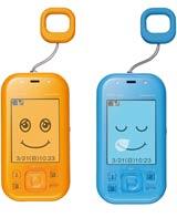 auの子ども向け携帯電話「mamorino」