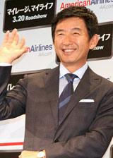 映画『マイレージ、マイライフ』のプレスイベントに出席した石田純一