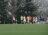 で、「ジーユージョギング部」の部員とともにジョギングを行う藤本美貴 (C)ORICON DD inc.