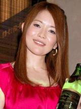 『本格そば焼酎応援団』の試飲会に参加した青田典子 (C)ORICON DD inc.