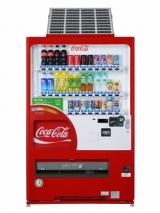 日本コカ・コーラが順次導入を開始するソーラーパネル付き自動販売機『ecoる/ソーラー』