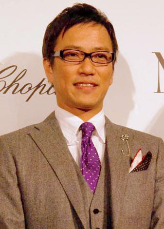 映画『NINE』の完成披露試写会のレッドカーペットイベントに参加した八代英輝氏 (C)ORICON DD inc.