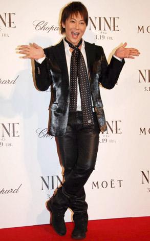 映画『NINE』の完成披露試写会のレッドカーペットイベントに参加した植松晃士 (C)ORICON DD inc.