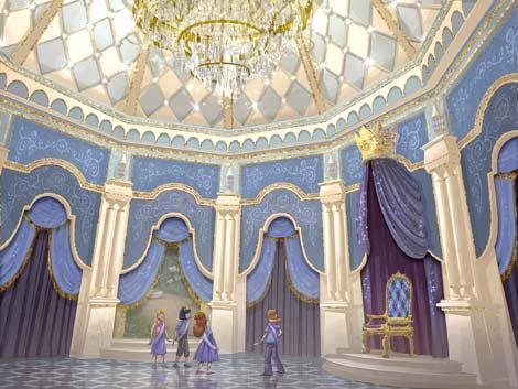 東京ディズニーランドに導入される新規アトラクション『シンデレラのフェアリーテイル・ホール』のイメージ画像(2011年春予定) (C)Disney
