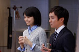 『医療保険 新EVER』(アフラック)新CMに出演する宮崎あおいと濱田岳