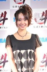 ゲーム中にキャバ嬢役で登場する水谷望愛