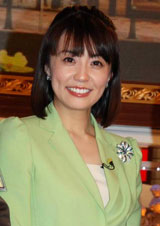 TBS系新番組『がっちりアカデミー!!』の会見に出席した小林麻耶(C)ORICON DD inc.