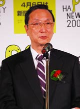 HAPPY NEWS2009審査委員長・秋山耿太郎 (C)ORICON DD inc.