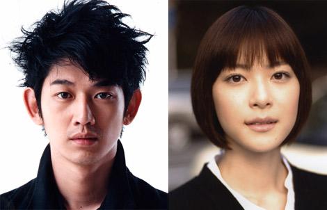 ドラマ『素直になれなくて』でダブル主演を務める瑛太(左)と上野樹里