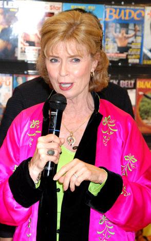 『生誕70周年記念 奇蹟のブルース・リー展』のプレミアイベントのために来日した妻のリンダ・リーさん
