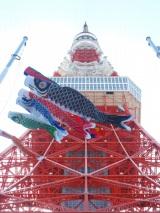 東京タワーが5日よりスタートさせた『端午の節句特別企画』