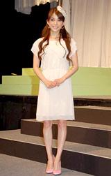 『ミッキー&ミニーのファンタジーツアー』開催記者発表に出席したSPEED・上原多香子