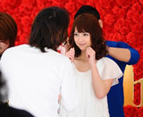 佐々木希が出演する『母の日ガーナ』キャンペーン(ロッテ)新CMメイキングカット