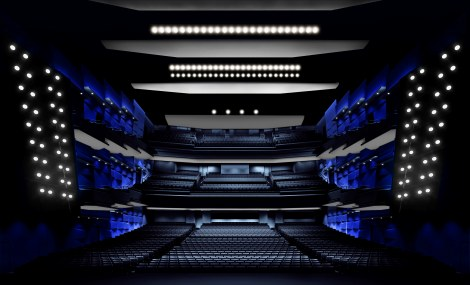 「渋谷ヒカリエ」内、劇場フロアのイメージ図