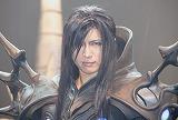 オンラインゲーム『Dragon Nest』の完成披露会に出席し、エイベックス移籍を自ら報告したGACKT