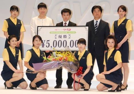 『第10回発毛日本一コンテスト』の模様 (C)ORICON DD inc.