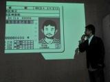 『ADOBE CREATIVE SUITE 5/station 5』記者発表会で、作品の一部を公開する高城剛氏 (C)ORICON DD inc.