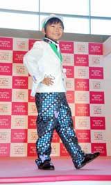 新作キッズ衣装のファッションショー『スタジオアリス 2010コレクション』でショーモデルに初挑戦した、加藤清史郎  (C)ORICON DD inc.