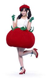 トマトに扮した前田敦子