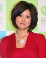 日本テレビとNHKの合同制作発表会見に出席した藤原紀香 (C)ORICON DD inc.