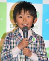 日本テレビとNHKの合同制作発表会見に出席した加藤清史郎 (C)ORICON DD inc.