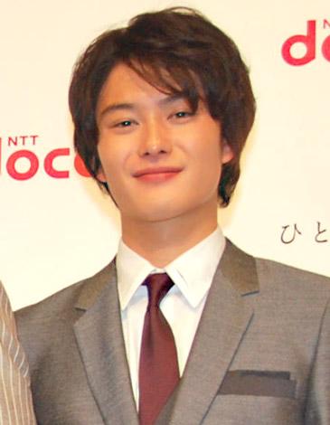 NTT『ドコモ』新CM発表会に出席した岡田将生 (C)ORICON DD inc.