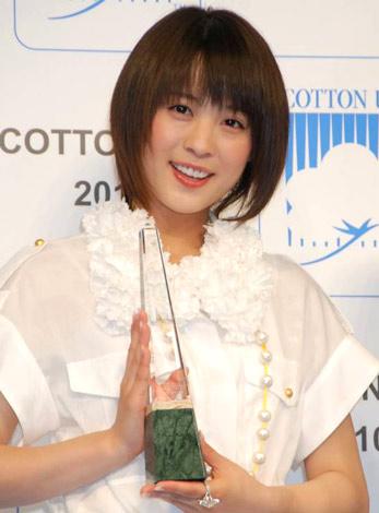 『第7回 COTTON USAアワード』を受賞した北乃きい (C)ORICON DD inc.