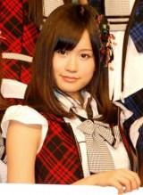 『オリコン芸能人事典』発表会見にゲスト登壇した、AKB48の前田敦子 (C)ORICON DD inc.
