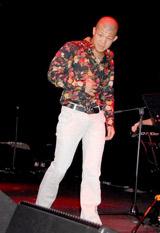 都内で行われたファッションショー&ライブイベントでモデルデビューを果たした亀田興毅