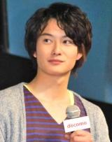 NTTドコモの『2010年夏 新商品・新サービス』発表会に出席した岡田将生 (C)ORICON DD inc.