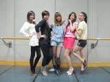 同イベントに登場する中国の「可愛的天使」(左からLily、Susan、Vicky、Shanshan、Wanwan)