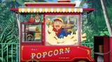 『スティッチ! 〜いたずらエイリアンの大冒険〜』で初めてアニメの舞台になる、スウィートハート・カフェ前のポップコーンワゴン (C)Disney