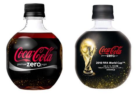 『コカ・コーラ ゼロ FIFAワールドカップデザイン 350mlPETボトル』